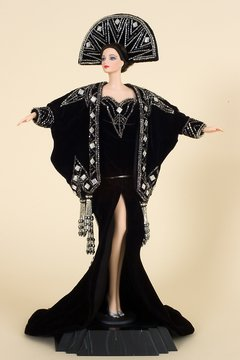 Barbie doll Erte Stardust Porcelain