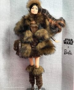 Star Wars Chewbacca x Barbie doll - comprar online