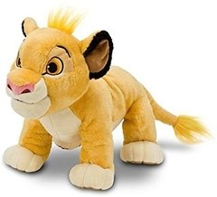 Simba Lion King Pelúcia Disney Store