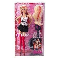 Barbie Top Model Hair Wear na internet