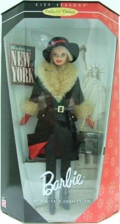 Winter in New York Barbie doll - comprar online