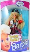 Vintage 1991 Teen Talk Barbie doll