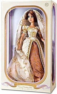 Rapunzel Wedding Disney Limited doll - comprar online