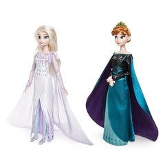 Queen Anna and Snow Queen Elsa Classic Doll Set - Frozen 2 na internet