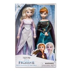 Queen Anna and Snow Queen Elsa Classic Doll Set - Frozen 2