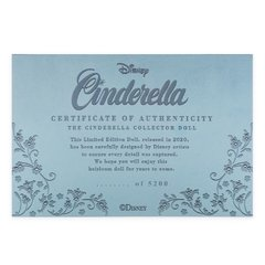 Imagem do Cinderella 70th Anniversary Limited Edition Doll