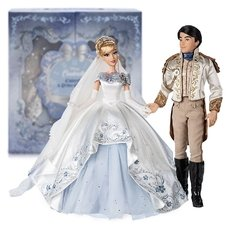 Cinderella and Prince Charming Limited Edition Wedding doll set