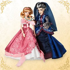 Cinderella & Lady Tremaine Disney Designer Fairytale Dolls na internet