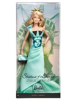 Barbie Statue of Liberty Dolls of The World - comprar online