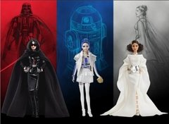 Star Wars R2D2 x Barbie doll