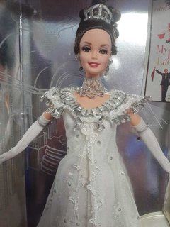 Barbie Doll as Eliza Doolittle from My Fair Lady at the Embassy Ball na internet