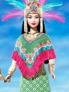 Princess of Ancient Mexico Barbie Doll - comprar online