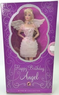 Happy Birthday Angel Barbie doll na internet