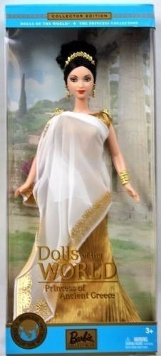 Princess of Ancient Greece Barbie Doll - comprar online