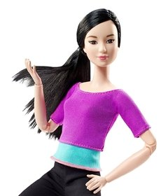 Barbie Made to Move Purple Top - comprar online