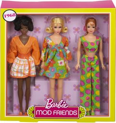 1968 My Favorite Barbie Mod Friends - comprar online