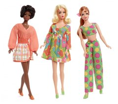 1968 My Favorite Barbie Mod Friends