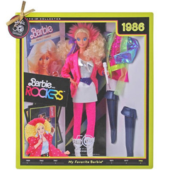 1986 My Favorite Barbie and The Rockers doll - loja online