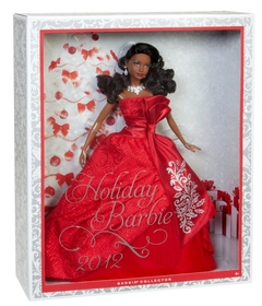 Barbie doll Holiday 2012 - African American