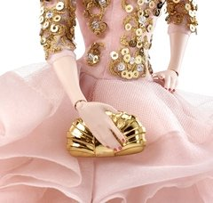 BLUSH & GOLD COCKTAIL DRESS - BARBIE DOLL na internet