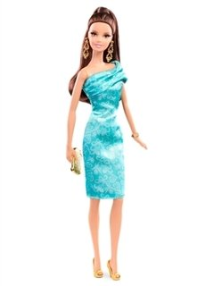 BARBIE - RED CARPET GREEN DRESS
