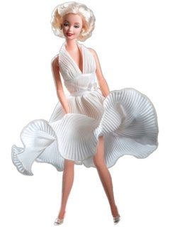 BARBIE - MARILYN MONROE WHITE DRESS THE SEVEN YEAR ITCH