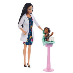 Barbie Dentista Playset Morena 2020 - Career doll