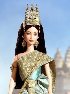 Princess of the Cambodia Barbie Doll - comprar online