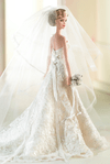 Carolina Herrera Bride Barbie doll