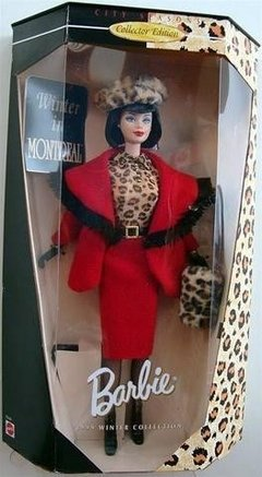 Winter in Montreal Barbie doll - comprar online