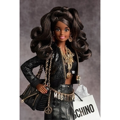Moschino Barbie doll ( negra ) - Michigan Dolls