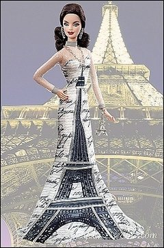 Barbie Eiffel Tower Dolls of The World