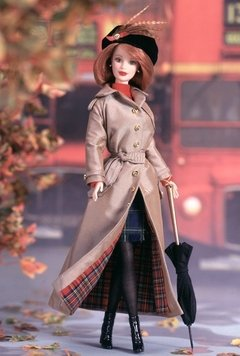 Autumn in London Barbie doll