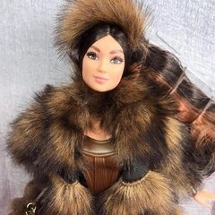 Star Wars Chewbacca x Barbie doll