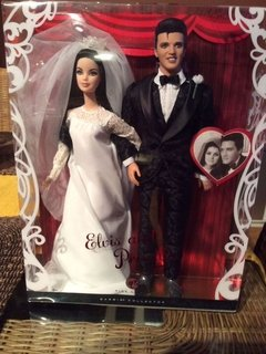 KEN ELVIS and PRISCILLA BARBIE DOLL GIFT SET - comprar online