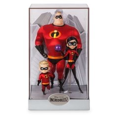 Mr. Incrivel, Dash e Violet Dolls Set Disney Designer