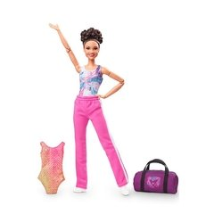 Laurie Hernandez Barbie doll - Michigan Dolls
