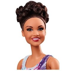 Imagem do Laurie Hernandez Barbie doll