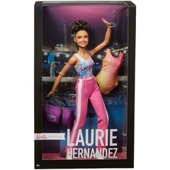 Laurie Hernandez Barbie doll