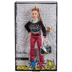 Imagem do Keith Haring X Barbie Doll