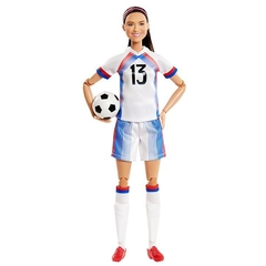Alex Morgan Barbie doll na internet