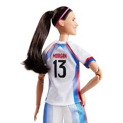Alex Morgan Barbie doll