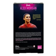 Alex Morgan Barbie doll - Michigan Dolls