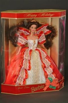 Happy Holidays 1997 Barbie doll - comprar online