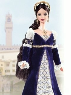 Princess of the Renaissance Italy Barbie Doll - comprar online