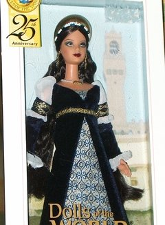 Princess of the Renaissance Italy Barbie Doll na internet