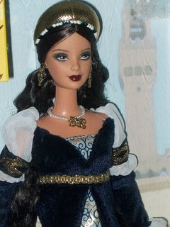 Princess of the Renaissance Italy Barbie Doll - Michigan Dolls