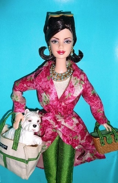 Kate Spade Barbie doll na internet