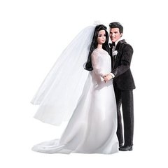 KEN ELVIS and PRISCILLA BARBIE DOLL GIFT SET