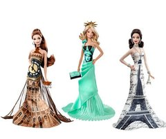 Barbie Eiffel Tower Dolls of The World - Michigan Dolls